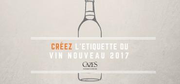 Créez l'étiquette du Vin Nouveau 2017
