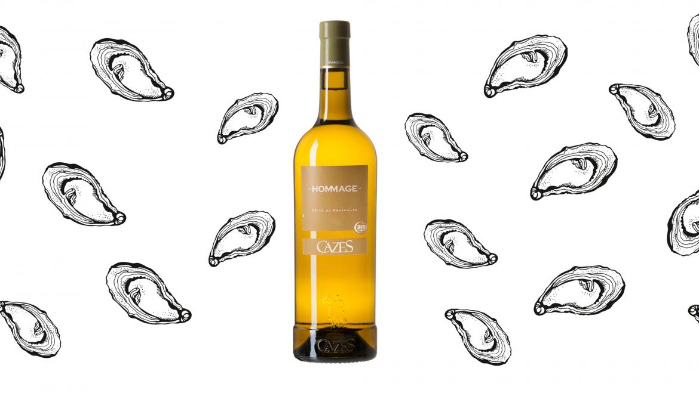 Vin blanc hommage domaine cazes - Mois du blanc 2017 ...