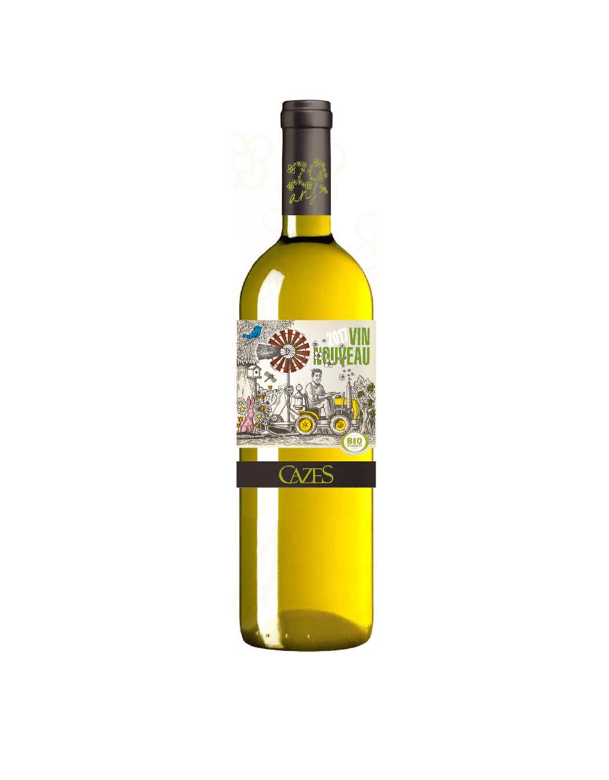 vin nouveau blanc cazes