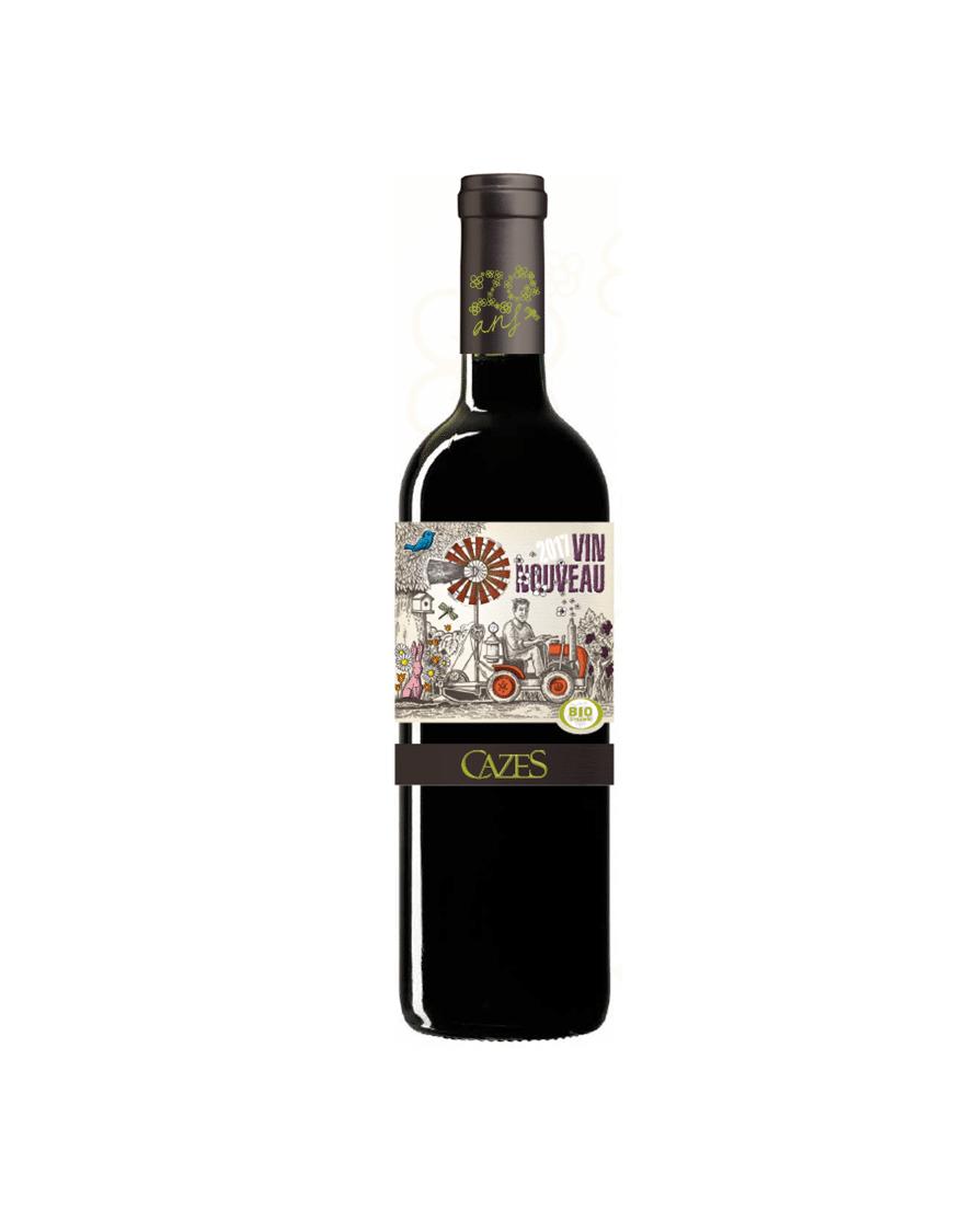 vin nouveau rouge cazes