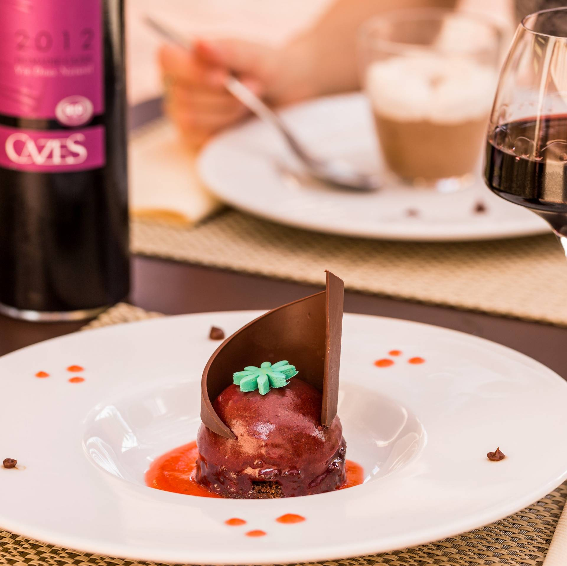 S jour romantique la maison cazes au coeur d 39 un domaine for Restaurant rivesaltes