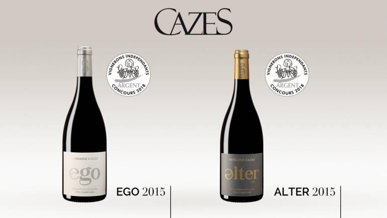 Ego & Alter, deux médailles d'Argent au concours des Vignerons Indépendants