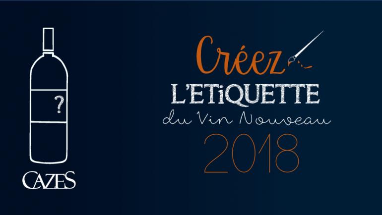 Concours graphisme : Créez le prochain millésime du Vin Nouveau 2018