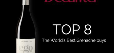Ego 2014 parmi les meilleurs Grenache du monde par Decanter