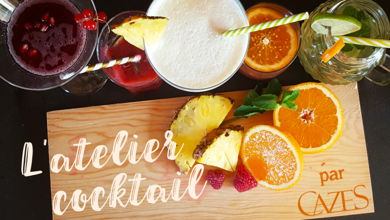 L'atelier cocktail : Le Sex on the Schiste