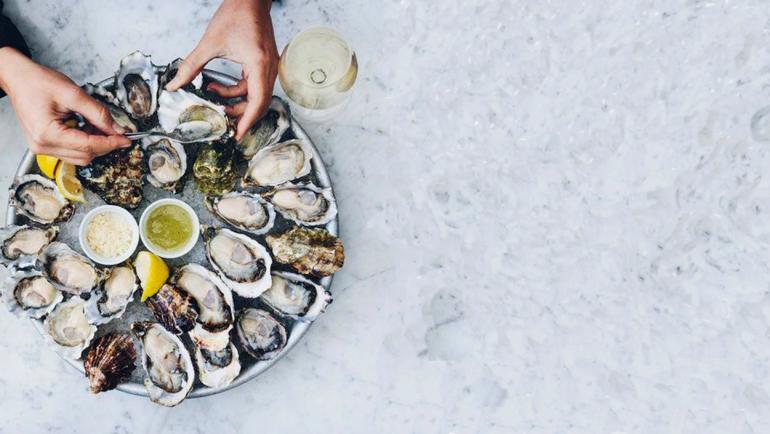 Dégustation huîtres / vin blanc